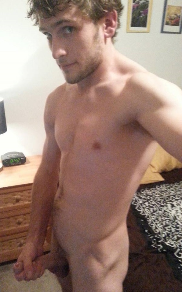 Cute Straight Guy Naked-7651