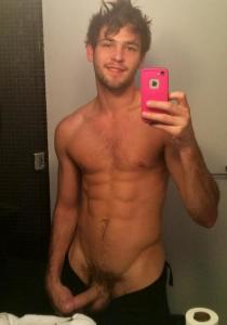 Hot Straight Guy Dick and Pubes