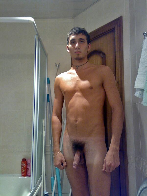 very well hung nudist