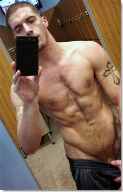 Sexy Man Locker Room