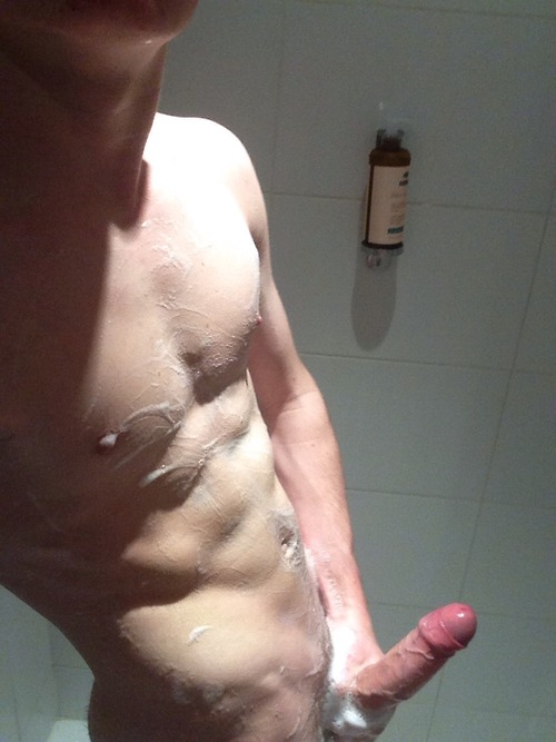 Naked guy getting in shower, Vagina types pictures