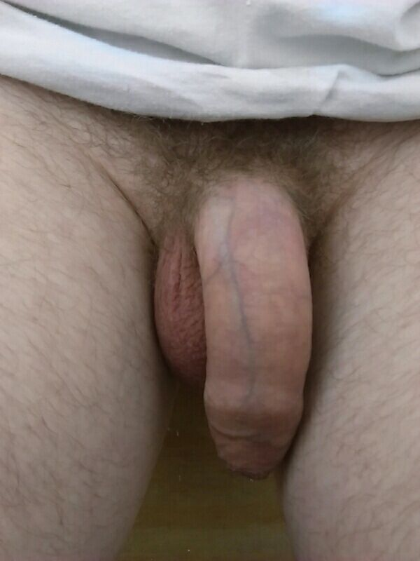 Hot And Hairy Nude Hunk With Soft Cock