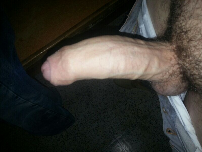 Hard Curved Thick Cock-2894