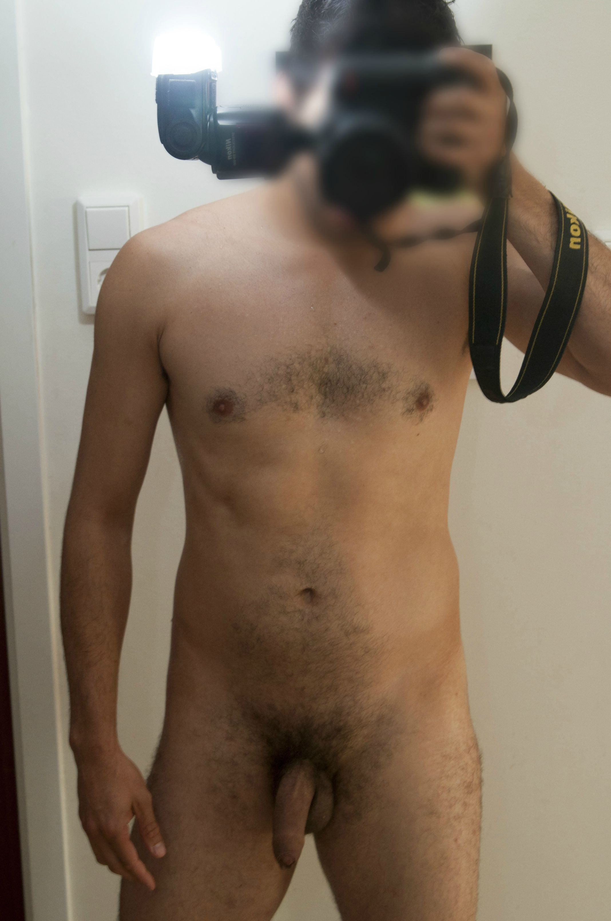Naked Selfie With Awesome Cock