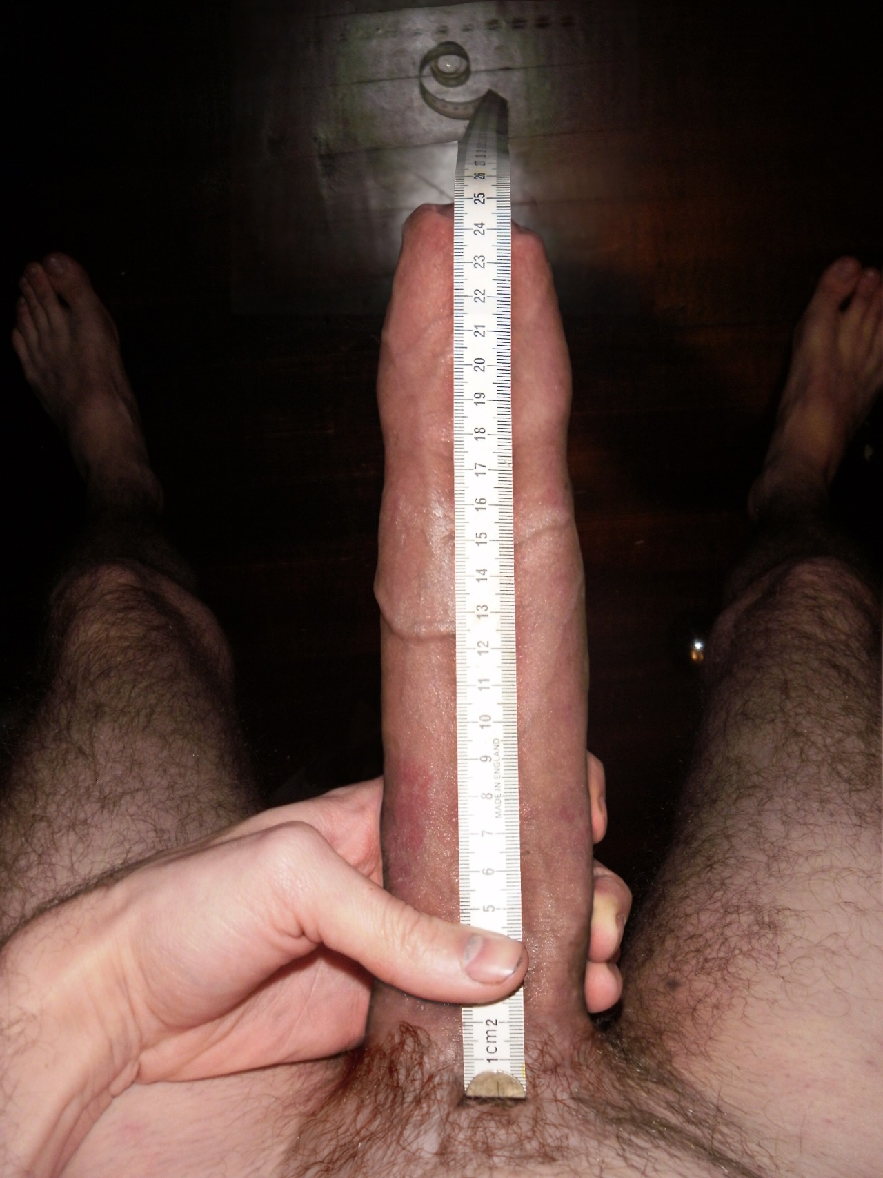 Size of a big dick