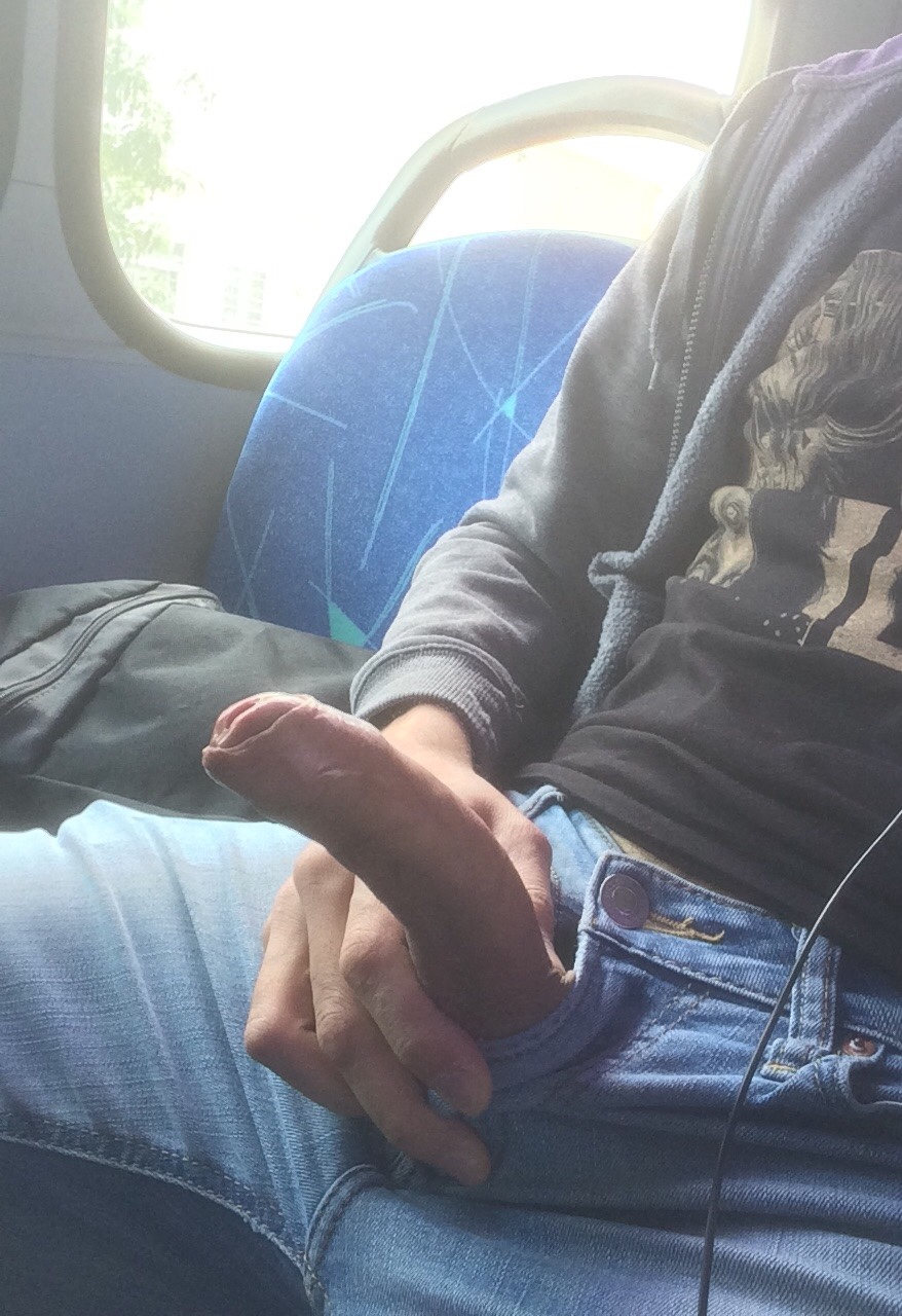 Guy on the bus