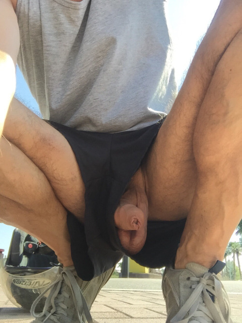 Showing uncut in public