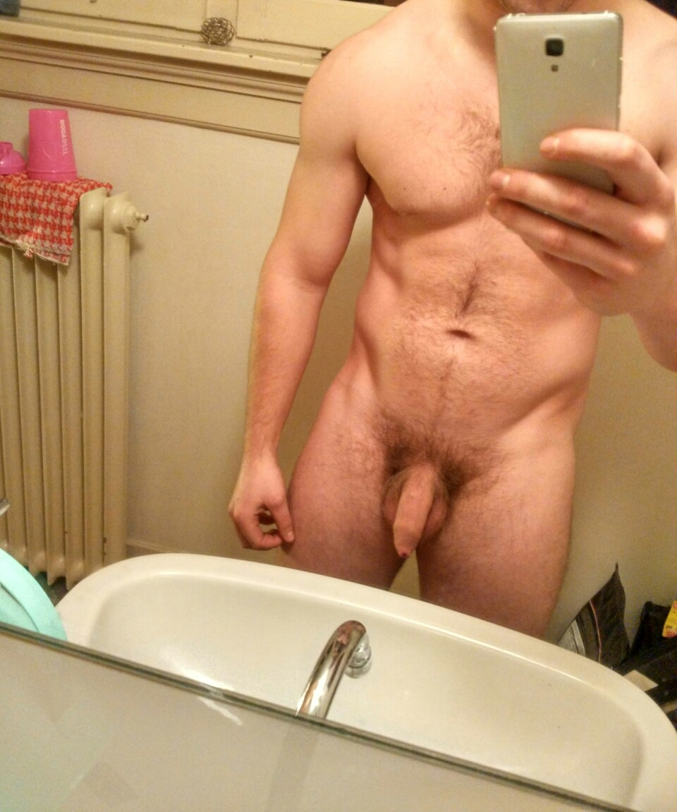 Amateur guy self cock shot pics