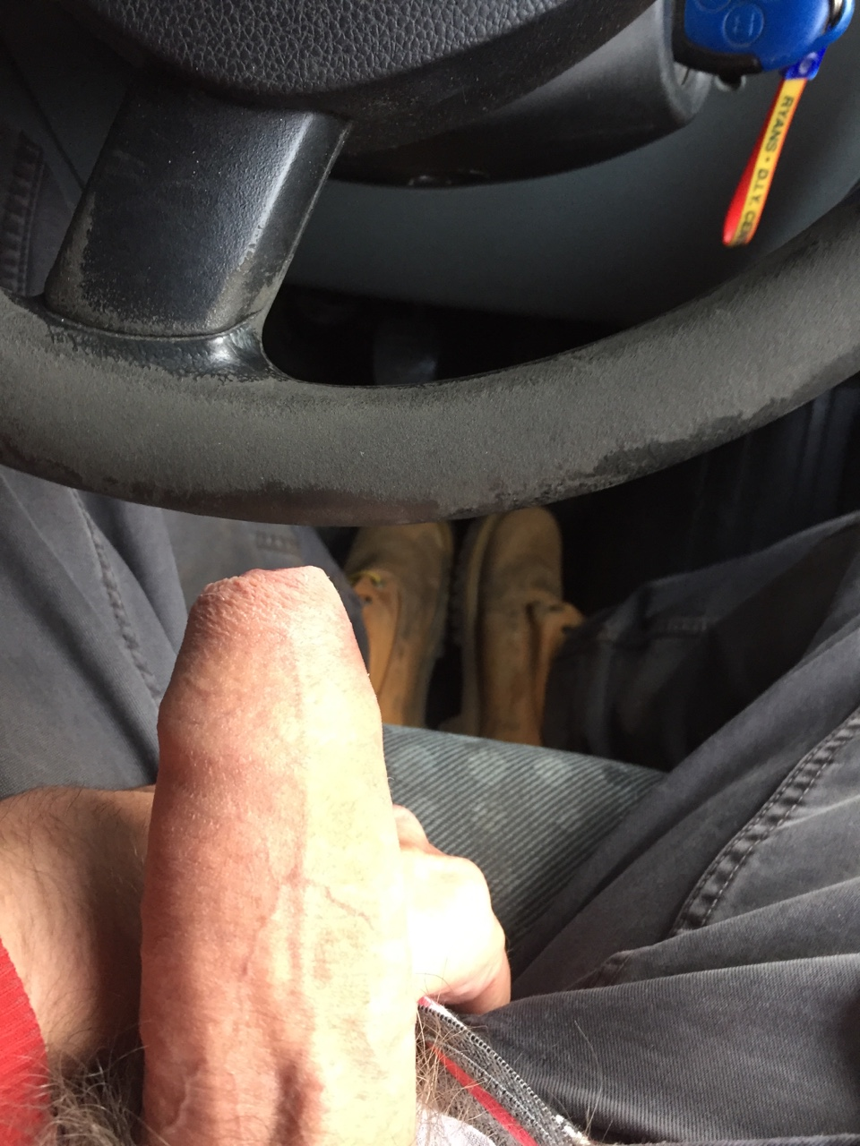 Dick Selfie On The Car-5631