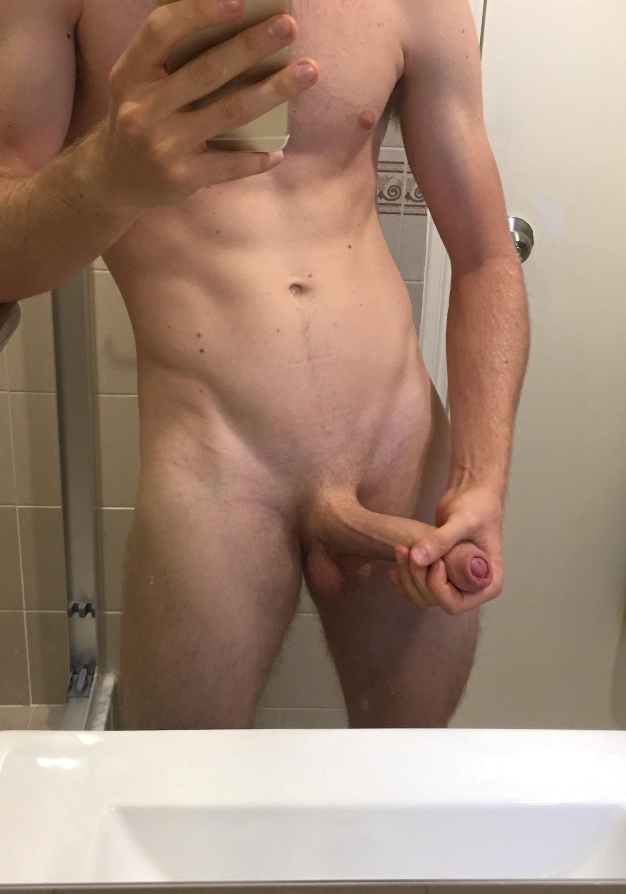 Mirror long cock