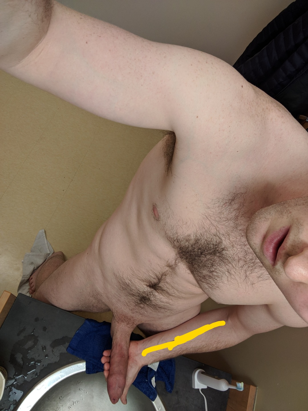 Hairy Body Big Cock