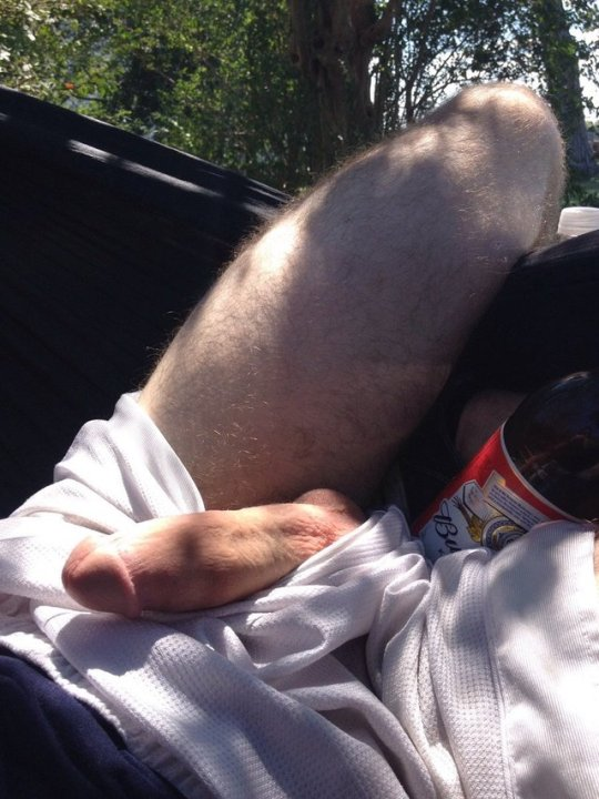 Outdoor straight cock