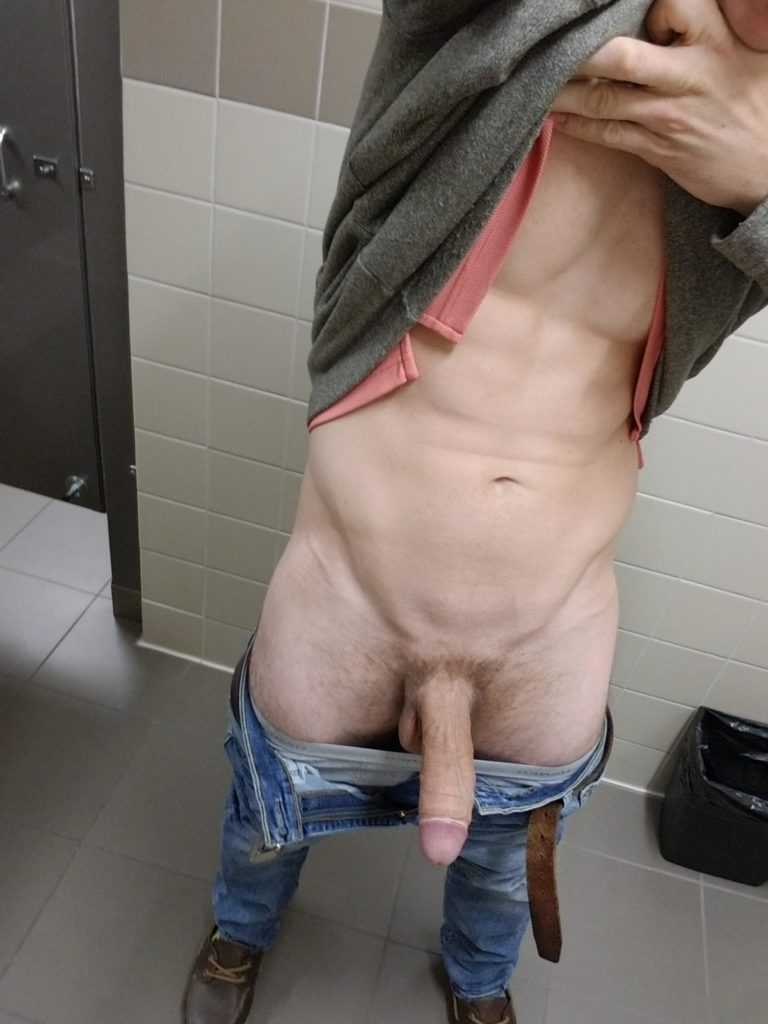 Bathroom guys nude