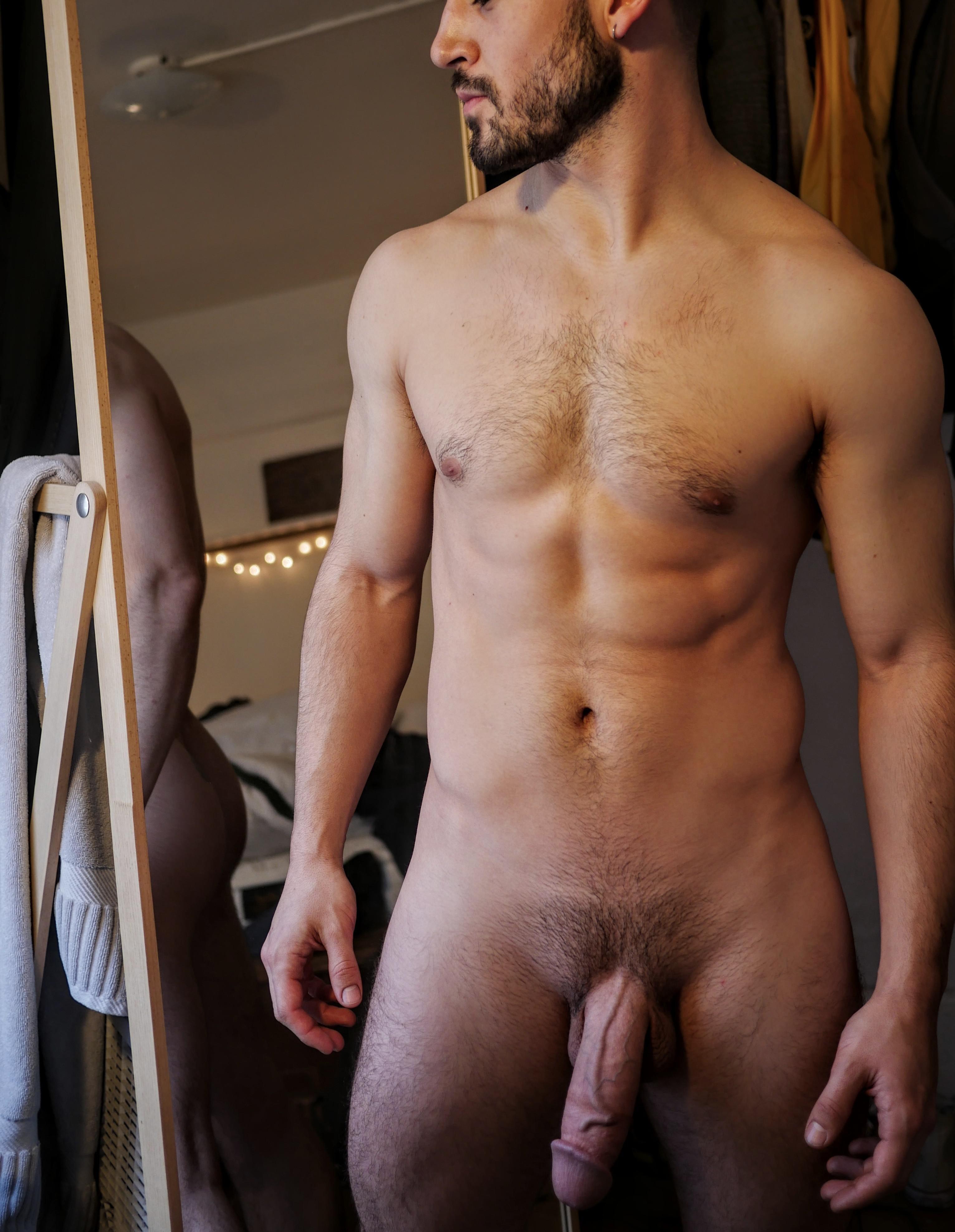 Free straight men naked