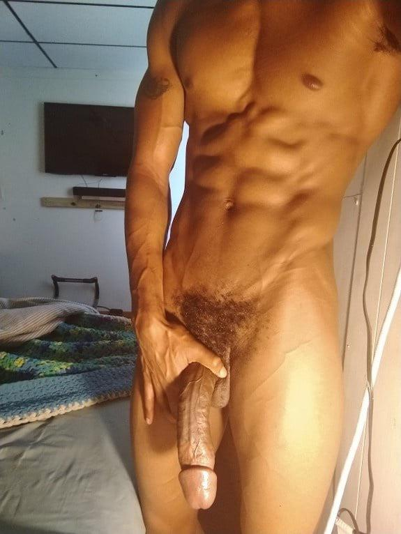 Muscle guy long dick