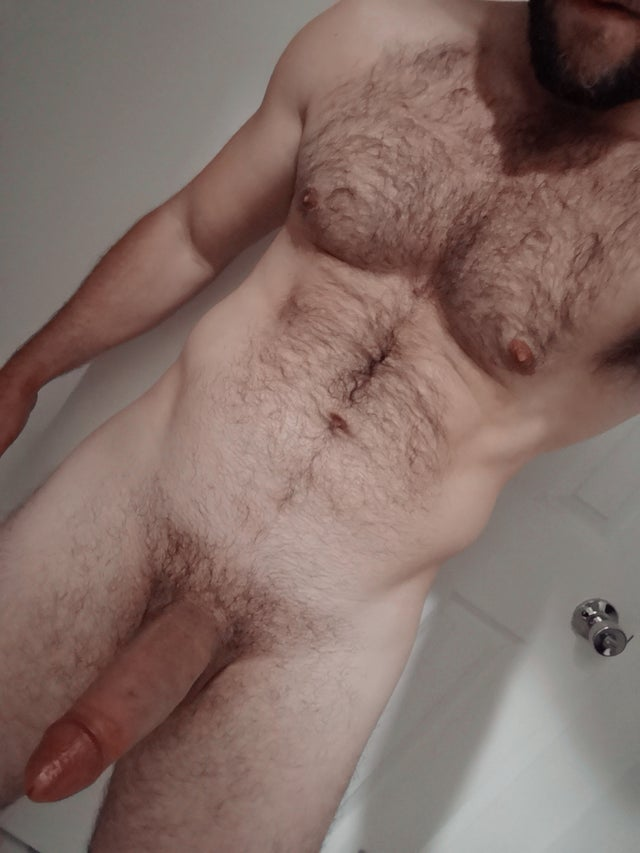 Hot hairy muscle otter