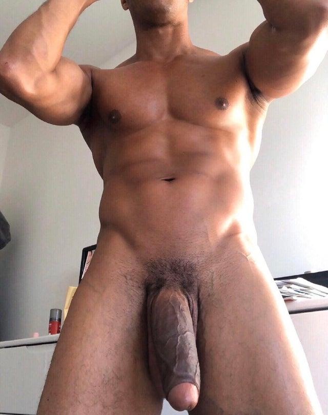 Naked Straight Black Men